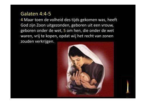 Galaten 4:4-5