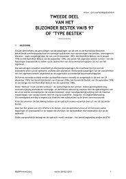 tweede deel van het bijzonder bestek - Vlaamse Maatschappij voor ...