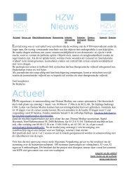 Nieuwsbrief Februari 2008 - Huisartsenkring Zuid West-Vlaanderen
