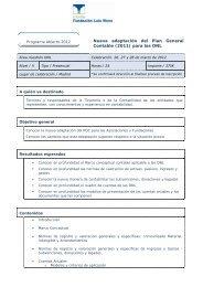 Nueva adaptación del Plan General Contable (2011) para las ONL
