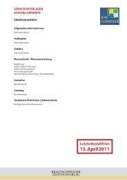 15. April 2011 - Braunschweiger Zeitungsverlag