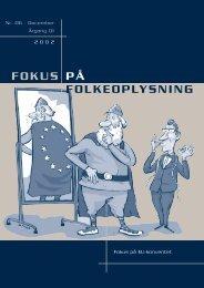 EU-konventet - Dansk Folkeoplysnings Samråd