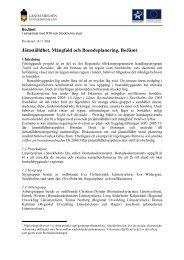 Jämställdhet, Mångfald och Boendeplanering, BoJämt