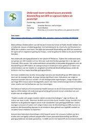 Onderzoek toont verband tussen prenatale blootstelling aan BPA en ...