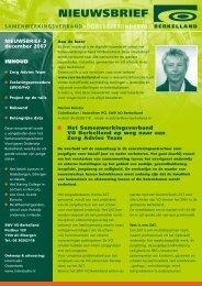 Nieuwsbrief 3: december 2007 - SWV VO Berkelland