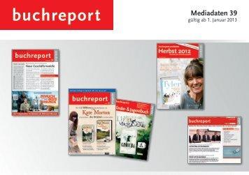 Mediadaten 39 - Buchreport