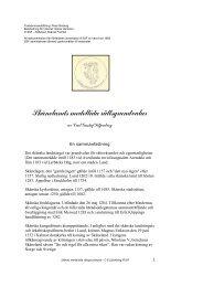 Skånelands medeltida rättsgrundvalar - Scania Skåneland