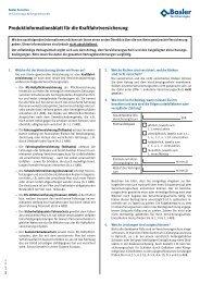 Verbraucherinfo Vertrage Von Fahrzeugen Mit Vers Vhv Partner