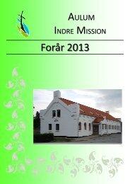 Program - Indre Mission Aulum