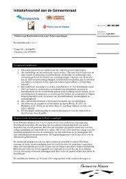 RV-33 - Politieke Markt - Gemeente Almere