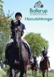 Programplan Häst start HT 2013