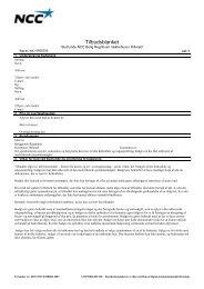Tilbudsblanket - Budrunde - NCC