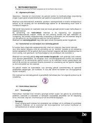 Hygiëneprotocol / Hoofdstuk 6: Instrumentenzorg - Denta