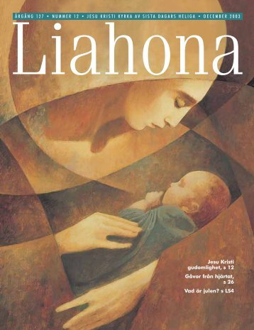 December 2003 Liahona