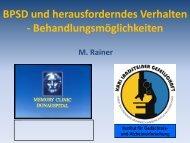 BPSD und herausforderndes Verhalten ... - Alzheimer Europe
