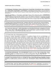 Publikationsliste: Bücher und Kataloge Stand: 05 ... - Christian Reder