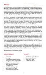De smaak - Bouwbedrijf MJ De Nijs en Zonen BV
