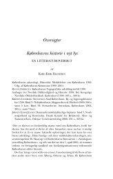 Oversigter Københavns historie i nyt lys - Historisk Tidsskrift