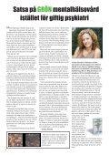Satsa på GRÖN mentalhälsa - Kommittén för Mänskliga Rättigheter - Page 4