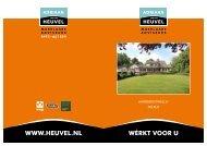 Verkoopbrochure - Adriaan van den Heuvel makelaars en adviseurs