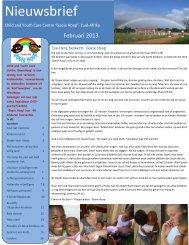 Lees hier nieuwsbrief feb 2013 (pdf 5mb) - Dorpskerk Woubrugge