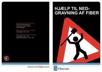 Hjælp til ned- gravning af fiber - GE Fibernet