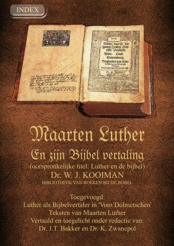 Citaten Maarten Luther : Het hogepriesterlijk gebed geschriften van maarten luther