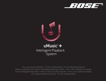 uMusic®+ - Bose