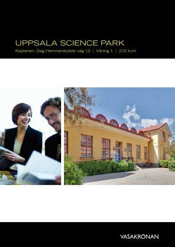 Uppsala science park - Lokalnytt