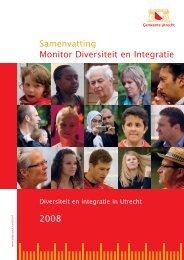 2008 Monitor Diversiteit en Integratie ... - Gemeente Utrecht