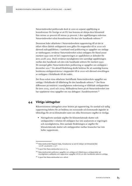 Klimatrelaterade skatter – Vem betalar - Riksrevisionen