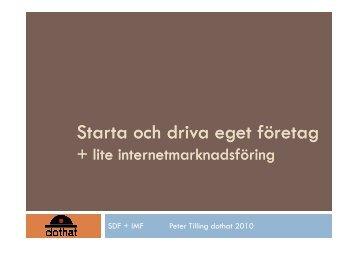 Starta eget företag - Jusek