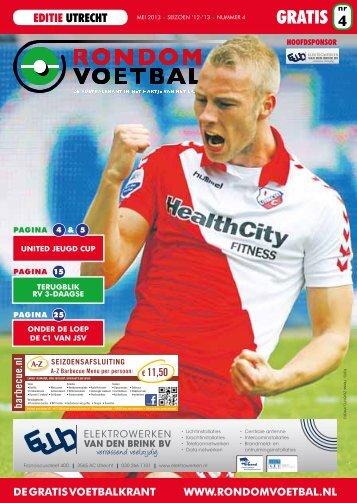 Seizoen 2012/2013 nummer 4 - Rondom Voetbal