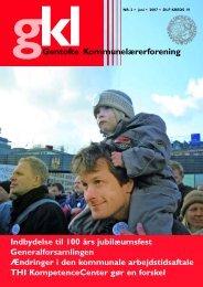 Juni 2007 - Gentofte Kommunelærerforening