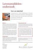Levensmiddelen- onderzoek - Micro-Analyse Zeeland - Page 2