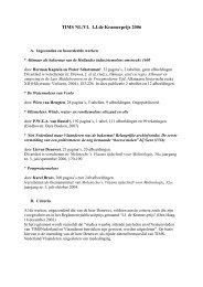 Juryrapport 2006 - TIMS - Nederland Vlaanderen