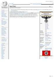 Nazi Party - Grahams Nazi Germany Third Reich Covers
