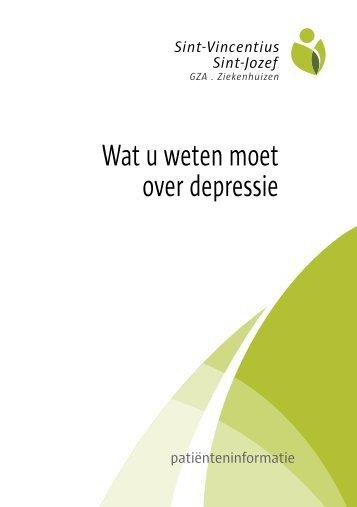 Depressie.pdf - GasthuisZusters Antwerpen