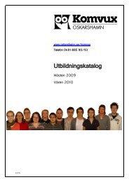 Utbildningskatalog - Oskarshamn