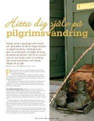 Hitta dig själv på pilgrimsvandring - Free