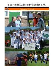 Sportoverzicht VCR 1 seizoen 2011/2012