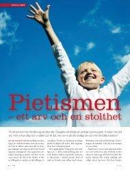 Pietismen – ett arv och en stolthet - Till Liv
