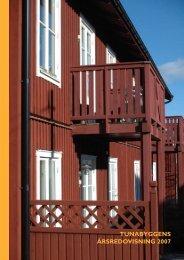 TUNABYGGENS ÅRSREDOVISNING 2007 - AB Stora Tunabyggen