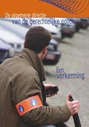 verkenning - Federale politie