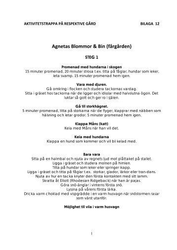 Agnetas Blommor & Bin (fårgården) - LRF