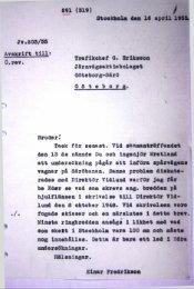 Stockholm den It april 1999b J*.903/59 Avskrift till: ö.rev. Trafikchef a ...