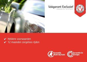 Vakgarant Exclusief - Autotrust garantievoorwaarden