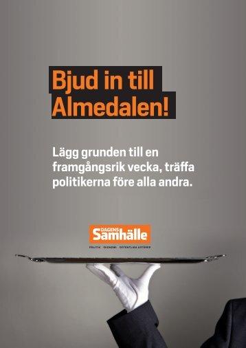 Bjud in till Almedalen! - Informa