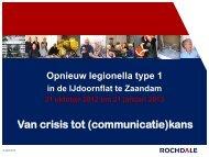 Presentatie van crisis tot communicatiekans - Rochdale