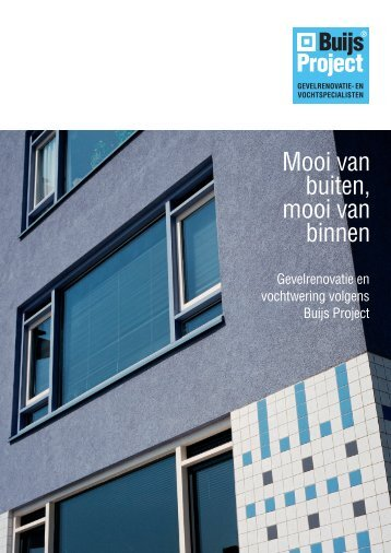 Brochure Buijs Project